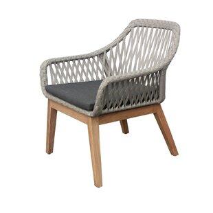 Alena Teak Patio Chair with Cushion