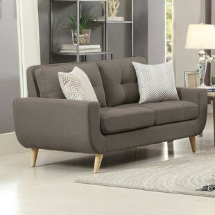 Price comparison Bunker Lake Upholstered Tufted Loveseat by Latitude Run Reviews (2019) & Buyer's Guide