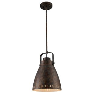 Blasco 1-Light Bell Pendant by Williston Forge