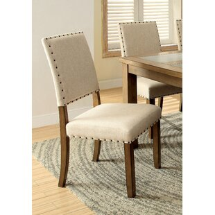 Crafton Upholstered Dining Chair (Set of 2) Alcott Hill
