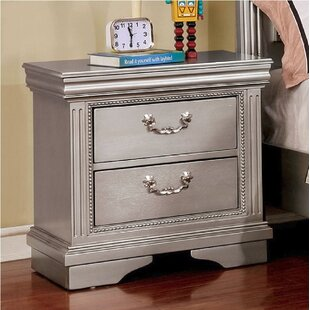 Hillsboro 2 Drawer Nightstand