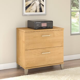 Kirchoff 2-Drawer Lateral Filing Cabinet by Ebern Designs