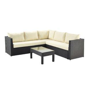 Karr 6 Seater Rattan Corner Sofa Set By Sol 72 Outdoor
