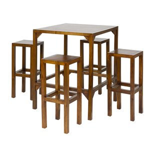 Diner 5-Piece Bar Table Set By Bay Isle Home