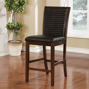 Kiester Counter Height Upholstered Dining Chair (Set of 2)