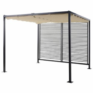 Milanna 2.95m X 2.75m Metal BBQ Gazebo By Sol 72 Outdoor