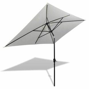 2m X 3m Rectangular Traditional Parasol By Freeport Park