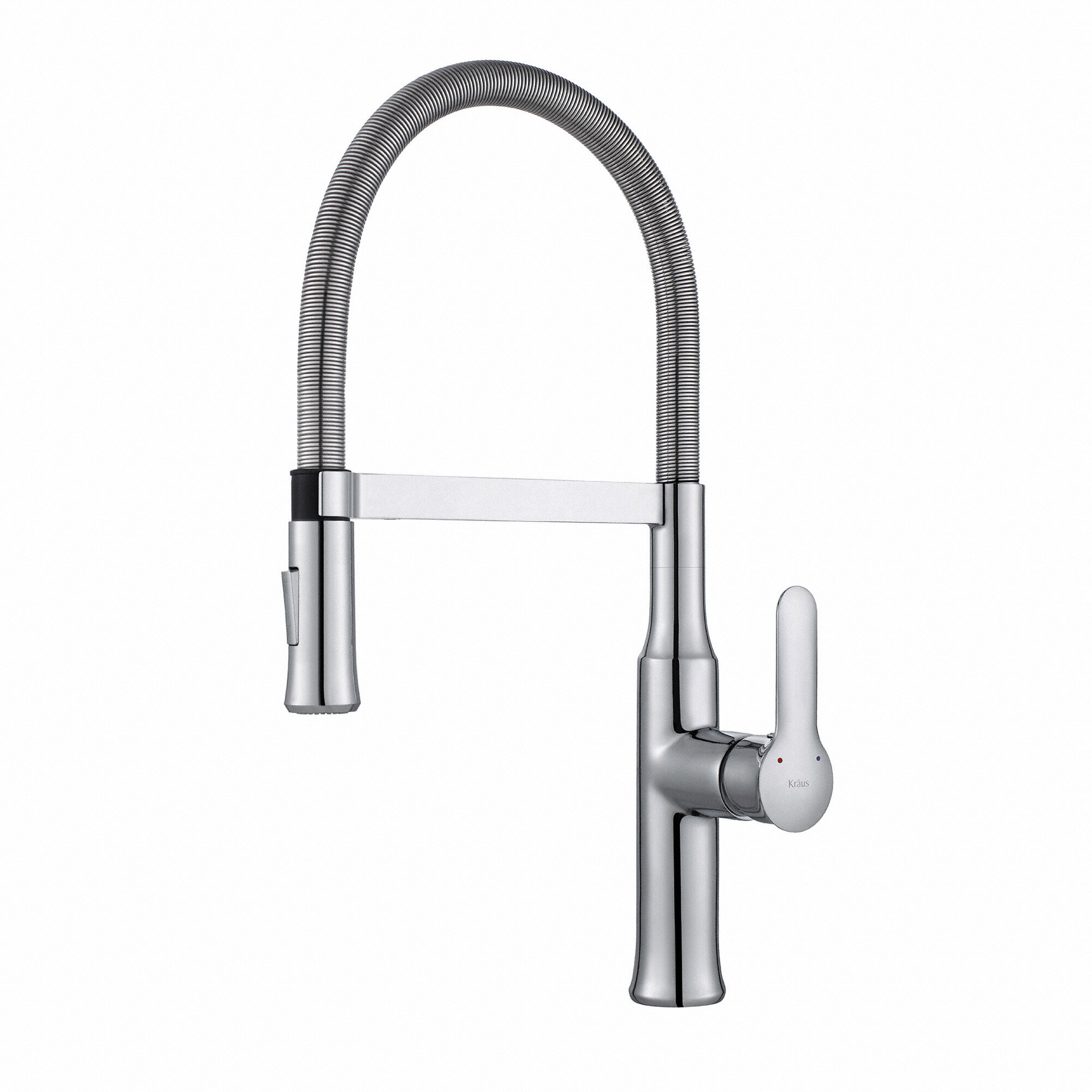 Kraus Nola Pull Down Single Handle Kitchen Faucet & Reviews