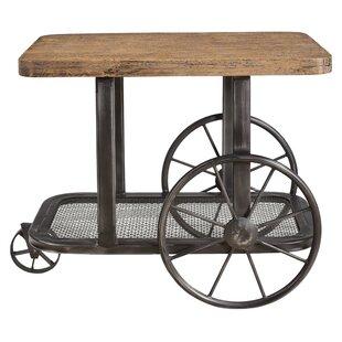 Loon Peak Hessler Wheel End Table