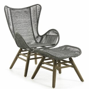 Hojanovice Footrest Garden Chair By Bay Isle Home