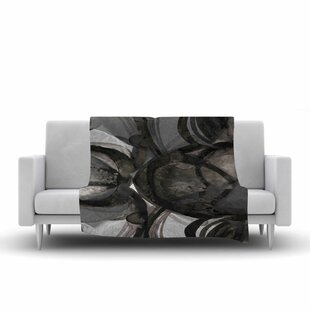 Best Ebi Emporium the Final Eclipse Painting Fleece Blanket By East Urban Home