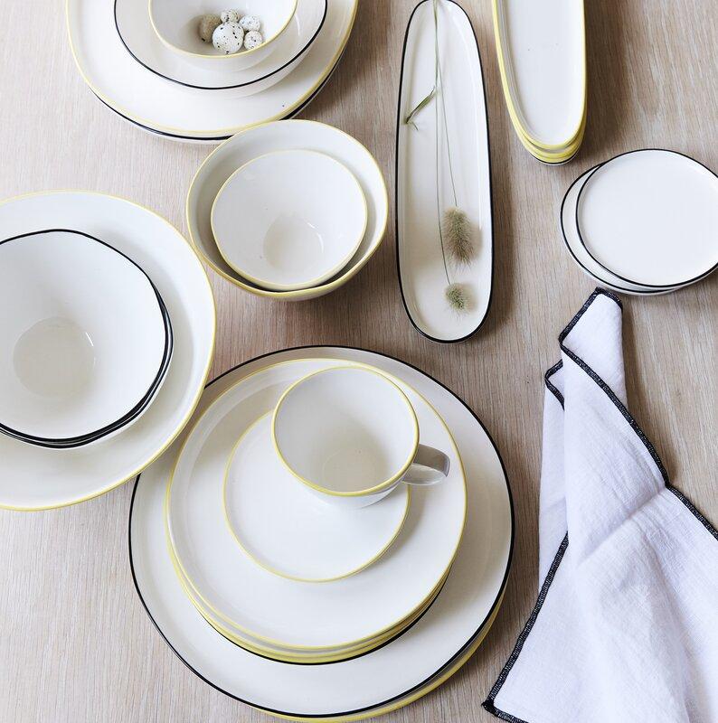 Abbesses Dinner Plate & Canvas Home Abbesses Dinner Plate \u0026 Reviews   Wayfair