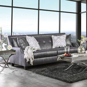 Olivia Contemporary Sofa by House of Hampton