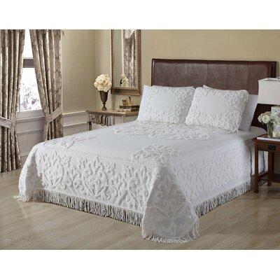 Jovany Chenille Single Bedspread Astoria Grand Size: Queen Bedspread