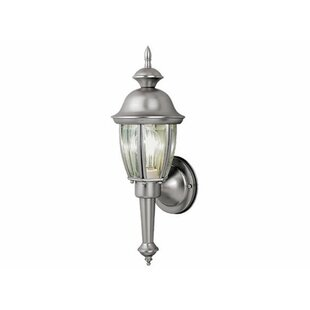 Farfan 1-Light Outdoor Sconce by Charlton Home