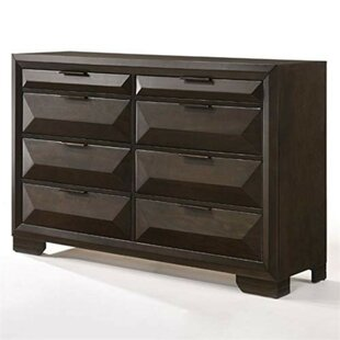 Nelsonville Wooden 8 Drawer Double Dresser