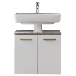 Burgas 600mm Wall Mounted Under Sink Cabinet By Quickset