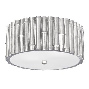 Bay Isle Home Weiss 2-Light Flush Mount