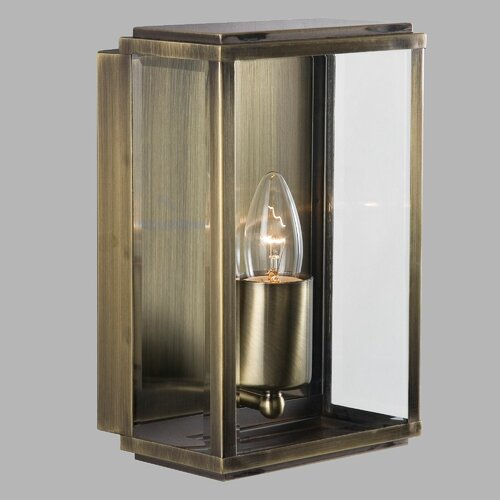Außenstrahler 1-flammig Kenwood Garten Living Beschichtung: Antikmessing | Lampen > Aussenlampen > Aussenstrahler | Garten Living