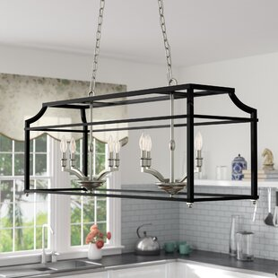 Bartley 8-Light Steel Kitchen Island Pendant by Darby Home Co