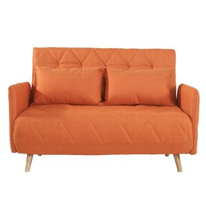 Lonan Fabric Fiber Sofa Bed by Ivy Bronx