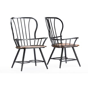 Carone Dining Chair (Set of 2) by Gracie Oaks