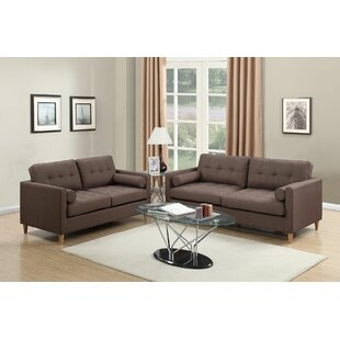 Comparison Engelhardt 2 Piece Living Room Set by Ivy Bronx Reviews (2019) & Buyer's Guide