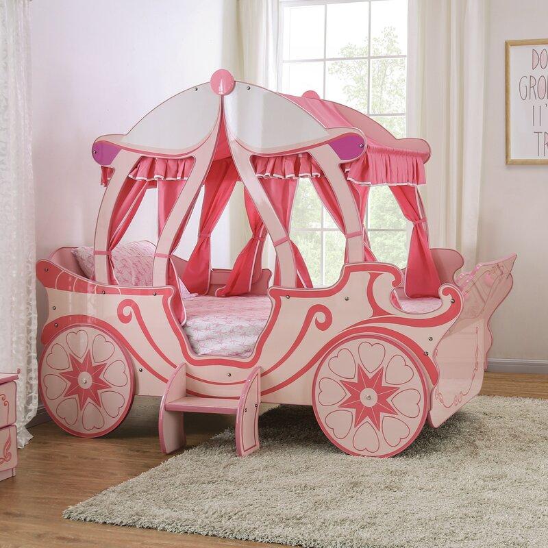Zoomie Kids Garlington Twin Car Bed | Wayfair