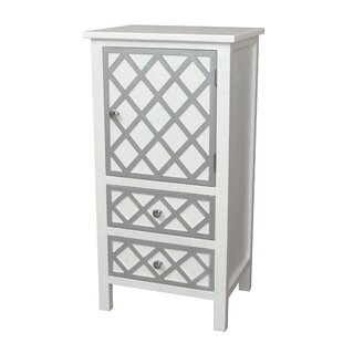 Trellis Drawer and 1 Door Accent Cabinet by Gallerie Decor