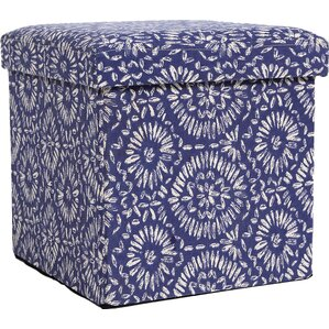 Landen Folding Storage Ottoman by Andover Mills