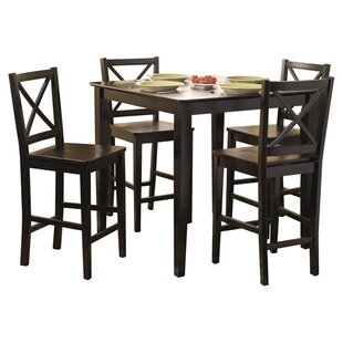 Dade 5 Piece Counter Height Dining Set