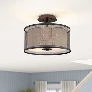 Normandin 2-Light Semi Flush M..