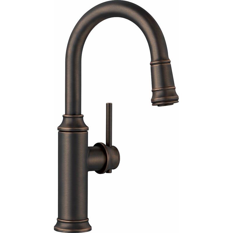 Blanco Empressa Pull Down Bar Faucet  Finish: Oil Rubbed Bronze
