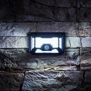 Killington Black Solar Powered LED Outdoor Work Light By Sol 72 Outdoor