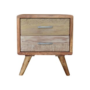 Aadvik 2 Drawer Nightstand by Foundry Select