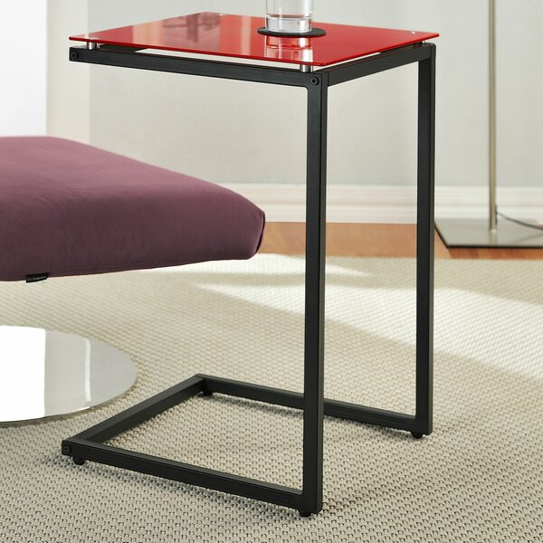 Varick Gallery Bonetti C Shaped End Table U0026 Reviews | Wayfair