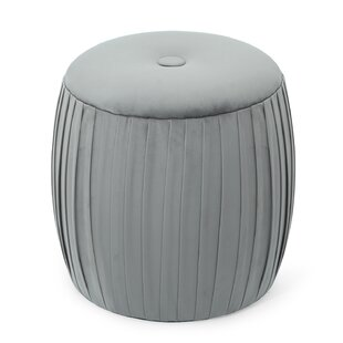 Abbey Pouf Ottoman by House of Hampton