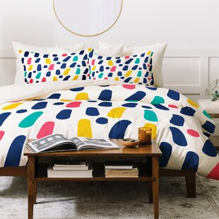 East Urban Home Dots and Dashes Duvet Set