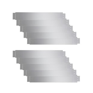 1m X 0.15m Edging (Set Of 10) By Symple Stuff