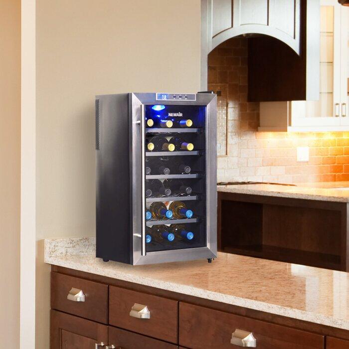 18 Bottle Single Zone Freestanding Wine Cooler