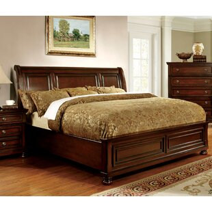 Read Reviews Barossa Sleigh Bed by Darby Home Co Reviews (2019) & Buyer's Guide