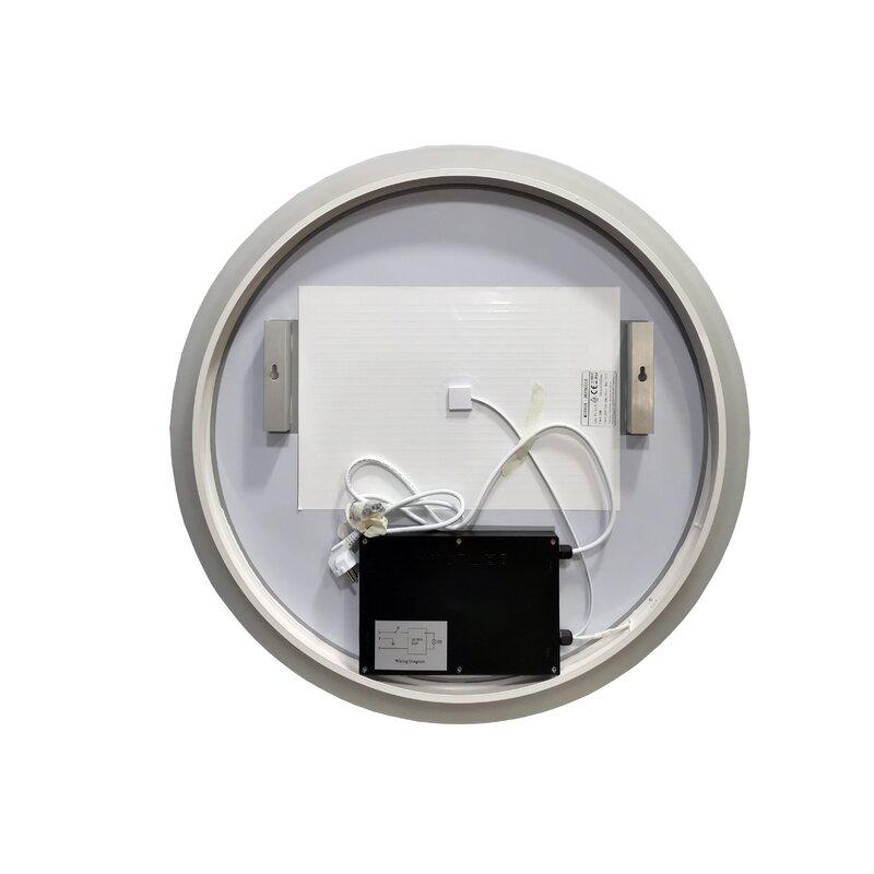 Ivy Bronx Owsley Backlit Frameless Lighted Bathroom Mirror Wayfair