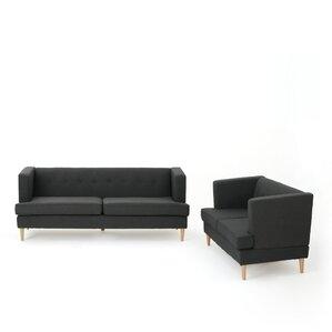Quijada 2 Piece Living Room Set by Varick Gallery