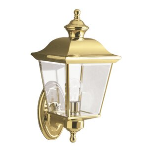Waterville 1 Light Outdoor Wall Lantern By ClassicLiving