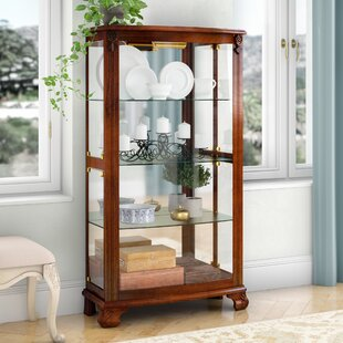 Superbe Nancy Lighted Curio Cabinet