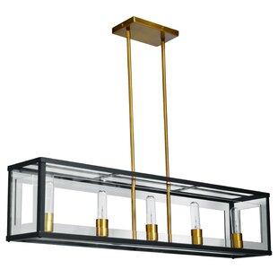 Brayden Studio Arnone 5-Light LED Kitchen Island Pendant