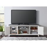 Carnes TV Stand for TVs up to 75 with Electric Fireplace Included by Rosalind Wheeler