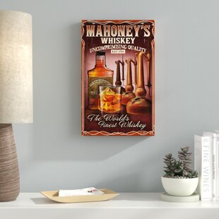 'Food and Drink 26' Vintage Advertisement on Wrapped Canvas ByEbern Designs