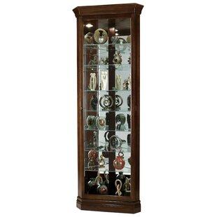 Brill Corner Curio Cabinet by Darby Home Co