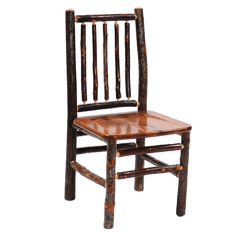 Loon Peak Cleary Spoke Back Solid Wood Side Chair